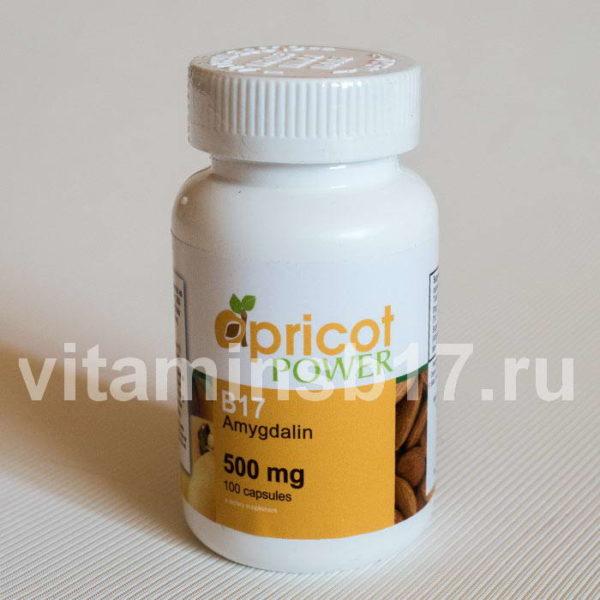 Витамин B17 500мг Apricot Power